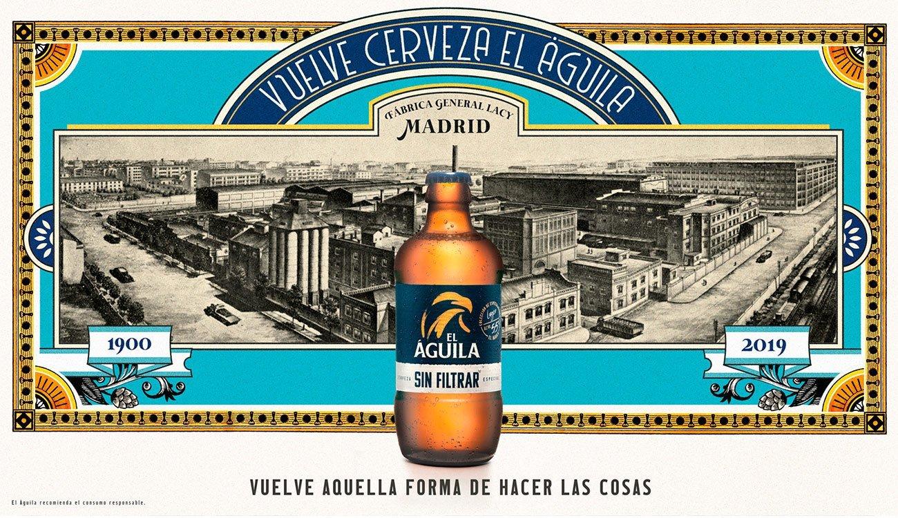 Billboard for brand El Águila by Sr.Reny