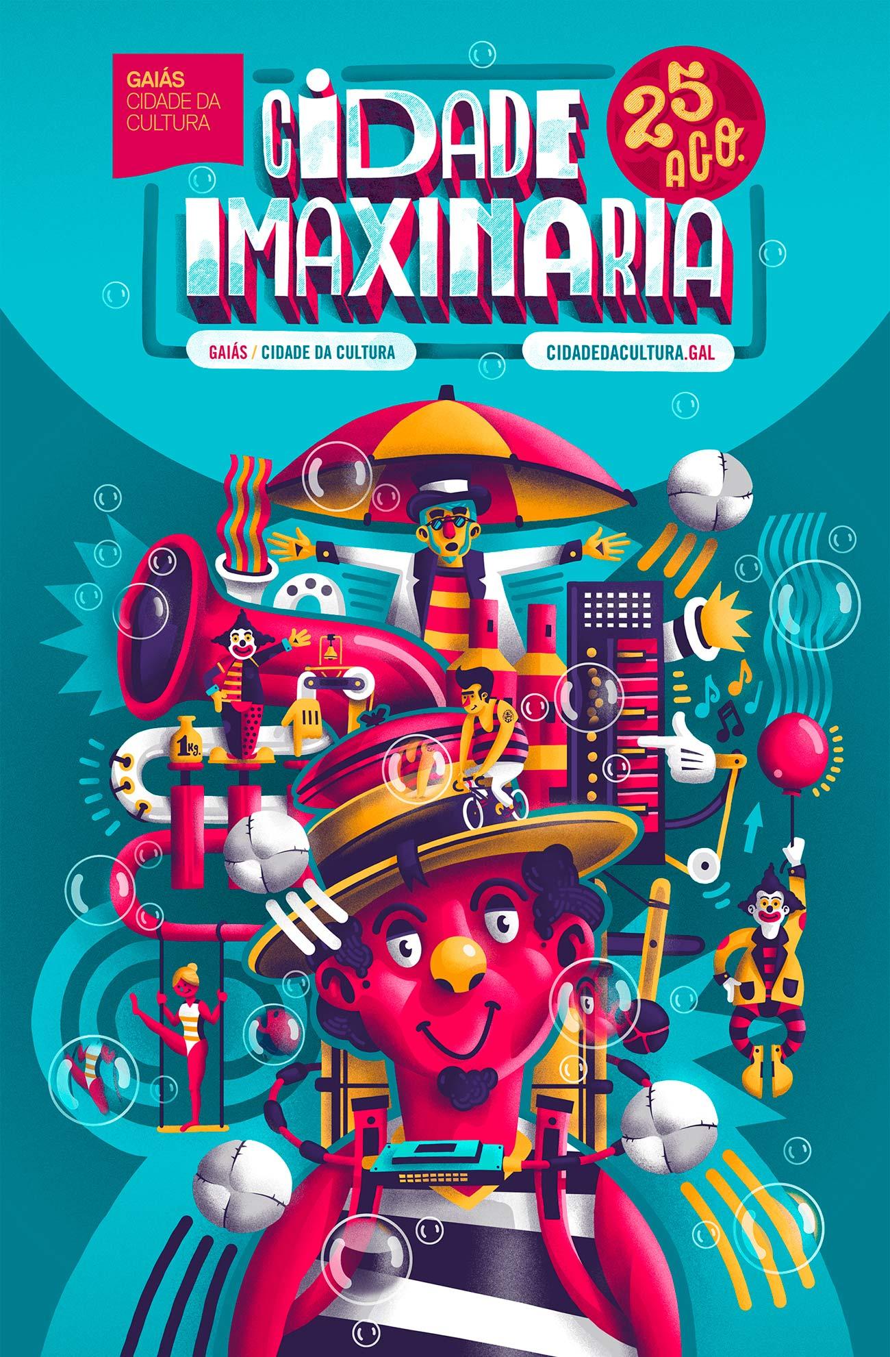 Illustration for Cidade Imaxianria 2018 by Sr.Reny