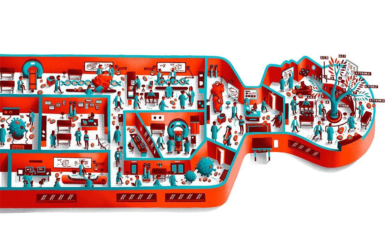 Illustration for Gene Online Asia by Sr.Reny