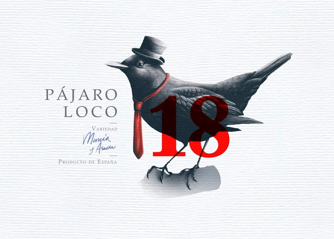 Design and Illustration for Pajara loco wine by Sr.Reny