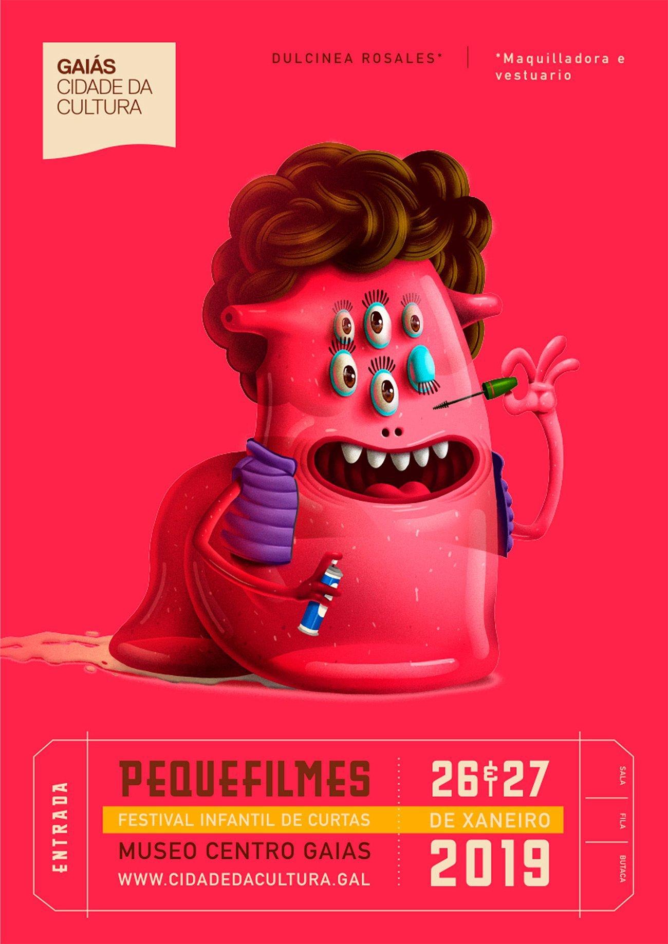 Illustration for Peque Filmes 2019 by Sr.Reny