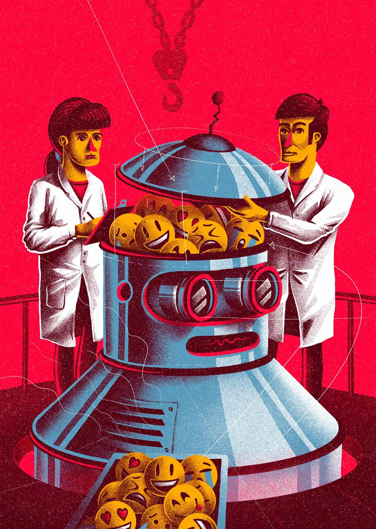 Illustration for Retina Magazine by Sr.Reny