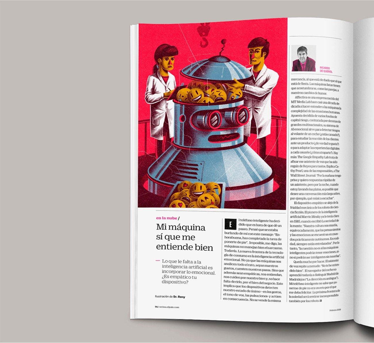 Mock up Retina Magazine by Sr.Reny