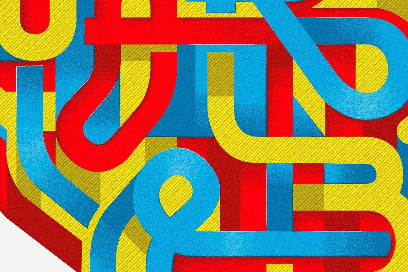 Detail design for Yorokobu magazine by Sr. Reny