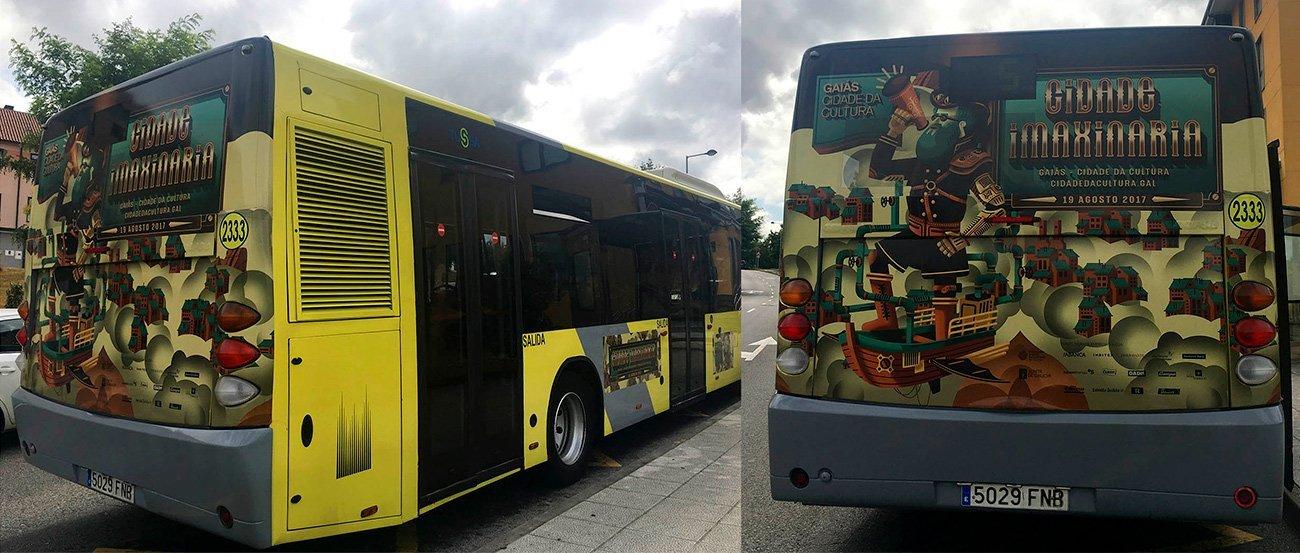 Bus for Cidade Imaxinaria 2017 by Sr.Reny