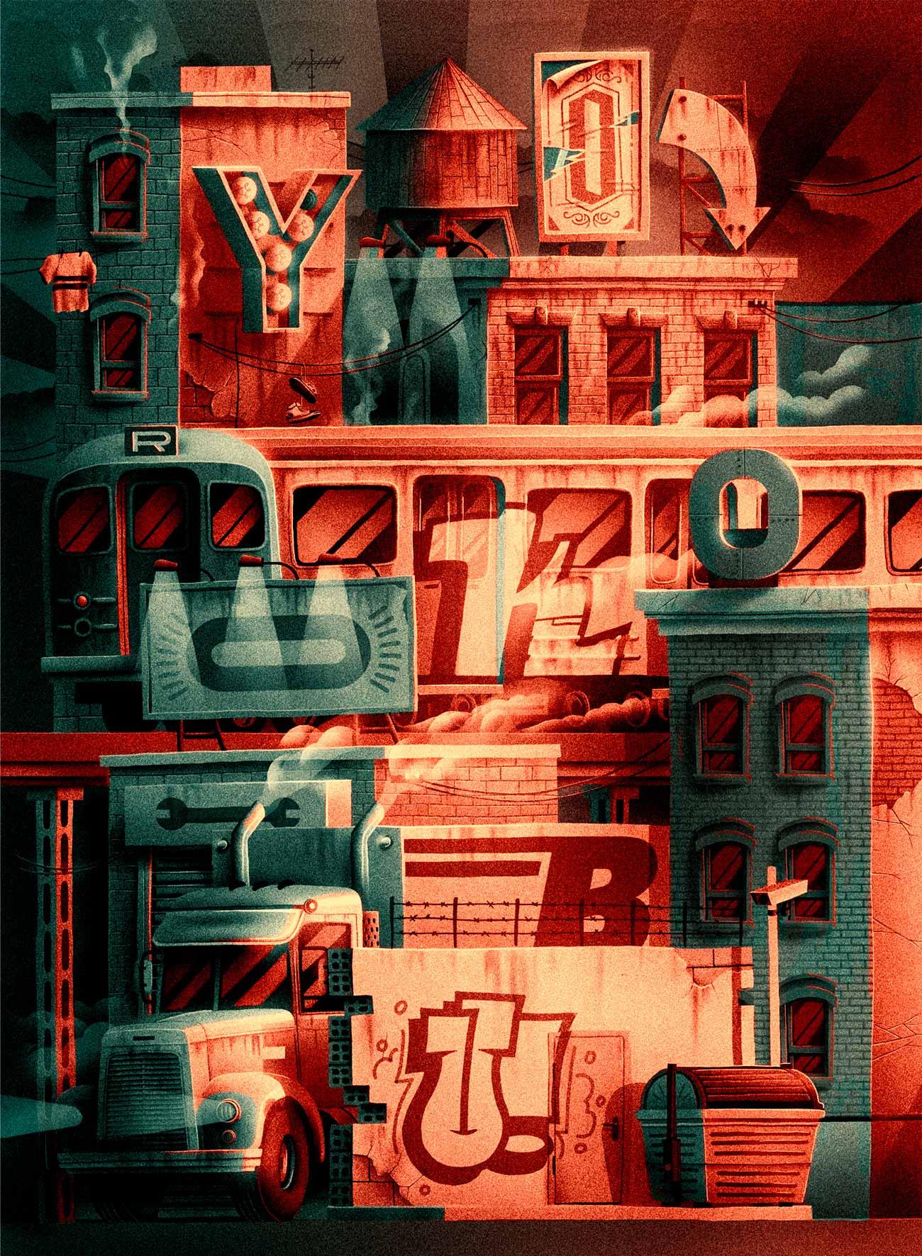 Illustration for Yorokobu magazine by Sr. Reny